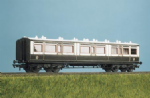 732 Ratio / Parkside PC732 COACH KITS  LMS (ex LNWR) Arc Roof Corridor Composite